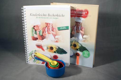 Kinderleichte Becherküche (Backbuch mit Begleitheft in Kurzschrift)