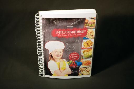 Kinderleichte Becherküche - Ofen-Rezepte für die ganze Familie (Begleitheft in Kurzschrift)