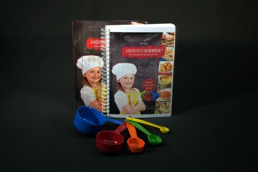 Kinderleichte Becherküche - Ofen-Rezepte für die ganze Familie (Kochbuch mit Begleitheft in Kurzschrift)
