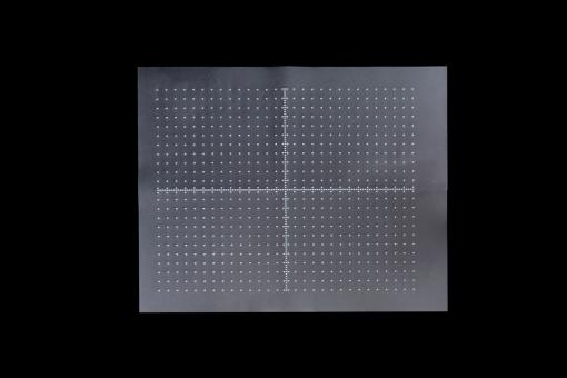 Punktgitternetz 27 x 34 cm (x- und y-Achse) mit 1,0 cm Rastereinteilung