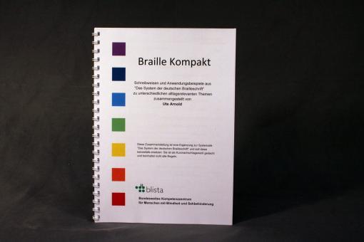 """Schwarzschriftausgabe """"Braille Kompakt"""""""