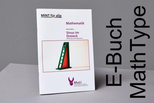 """Heft E-Buch MathType """"Sinus im Dreieck - Einführung in die Trigonometrie"""""""