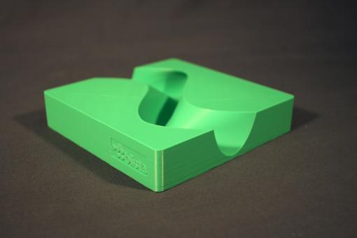3D-Modell Flussmäander
